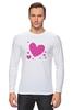 """Лонгслив """"""""LOVE"""""""" - праздник, сердце, любовь, розовое, девушке, девочке, сердечки"""
