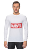 "Лонгслив ""Marvel"" - комиксы, классная, крутая, marvel, spider man, марвел, железный человек, iron man, капитан америка, локи"
