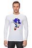"Лонгслив ""Sonic"" - соник, sonic, sega"