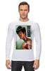 """Лонгслив """"Bruce Lee"""" - karate, bruce lee, fighter, карате, брюс ли"""