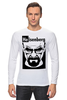 "Лонгслив ""Heisenberg (Breaking Bad)"" - во все тяжкие, breaking bad, heisenberg"