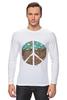 "Лонгслив ""Pacific"" - арт, peace, пацифизм"
