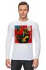 """Лонгслив """"Basquiat"""" - граффити, робот, basquiat, баския, жан-мишель баския"""