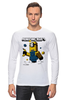 "Лонгслив ""MINIONCRAFT"" - minecraft, майнкрафт, banana, банан, миньон, minion, гадкия я"