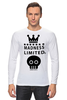 "Лонгслив ""Madness"" - skull, череп, корона, фэшн, crown"