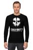 """Лонгслив """"CALL OF DUTY: GHOSTS"""" - игра, shooter, призраки, зов долга, activision"""