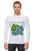 "Лонгслив ""PoKeMon  Bulbasaur"" - pokemon, покемон, bulbasaur, бульбазавр, травяной"
