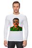 """Лонгслив """"Сталин"""" - вождь, сталин, stalin"""
