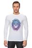 """Лонгслив """"Лев_Арт"""" - царь, king, лев, король, lion, animal, leo, львы"""