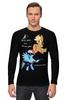 "Лонгслив ""Rainbow Jack"" - pony, rainbow dash, mlp, my little pony, пони, brony, applejack, мой маленький пони, брони"