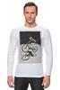 """Лонгслив """"девушка на велосипеде"""" - спорт, bmx, велосипед, street, bike, стрит, biking, велоспорт, девушка на велосипеде, дерт"""