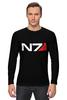 """Лонгслив """"N7 (Mass Effect)"""" - mass effect, n7, масс эффект"""