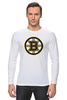 "Лонгслив ""Boston Bruins"" - медведь, хоккей, nhl, бостон, boston bruins"