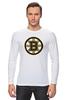"Лонгслив ""Boston Bruins"" - медведь, хоккей, nhl, бостон, boston bruins"