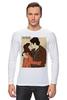 """Лонгслив """"Love / I'm Yours"""" - любовь, 14 февраля, поцелуй, вместе, день влюбленных"""