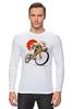 """Лонгслив """"Star Wars"""" - star wars, bicycle, велосипед, bike, stormtrooper, звёздные войны, штурмовик"""