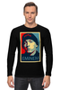 """Лонгслив """"Эминем (Eminem)"""" - поп арт, rap, рэп, eminem, эминем"""