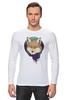 """Лонгслив """"Лиса в шарфике"""" - fox, лиса, лиса в шарфике"""