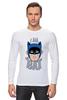"""Лонгслив """"I Am the Bat"""" - комиксы, batman, герой, бэтмен"""