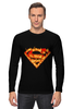 """Лонгслив """"Супермен"""" - comics, комикс, superman, супергерой, dc, superhero"""