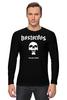 "Лонгслив ""Bastardos"" - skull, череп, music, metal, рок, rock, метал, металлист, metalhead, thrash metal"