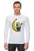 """Лонгслив """"Миньон с Бананом"""" - banana, банан, гадкий я, minion"""