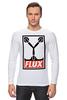 "Лонгслив ""Flux Capacitor (Назад в Будущее)"" - назад в будущее, obey, back to the future, flux capacitor"
