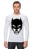 """Лонгслив """"Доктор Хаус в маске Бэтмена"""" - house, batman, бэтмен, доктор хаус"""
