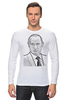 "Лонгслив ""Владимир Путин"" - путин, putin, владимир путин"