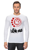 "Лонгслив ""blink-182 red logo"" - blink-182, ava, blink 182, angelsandairwaves, blink182"