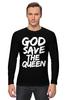 "Лонгслив ""God Save the Queen (Боже, храни Королеву)"" - англия, панк, england, sex pistols"
