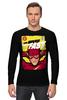 "Лонгслив ""Супергерой Флэш"" - flash, комиксы, супергерои, молния, флэш"