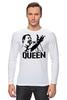 "Лонгслив ""Freddie Mercury - Queen"" - queen, фредди меркьюри, freddie mercury, куин, rock music"