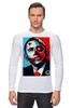 """Лонгслив """"Обама"""" - usa, обама, сша, президент, власть, obama"""