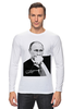 "Лонгслив ""Владимир Путин by Hearts of Russia"" - путин, президент, putin, сердцароссии, karavev"