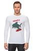 "Лонгслив ""Акула (Baywatch)"" - акула, спасатели малибу, baywatch"