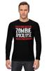 """Лонгслив """"Zombie Apocalypse"""" - zombie, зомби, апокалипсис, apocalypse"""