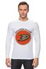 "Лонгслив ""Anaheim Ducks"" - спорт, хоккей, nhl, нхл, anaheim ducks"