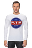 "Лонгслив ""Путина в президенты Америки (2016)"" - usa, патриот, путин, президент, putin"