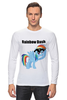 "Лонгслив ""Rainbow Dash"" - mlp, my little pony, rainbow, dash, friendship is magic, dashie, coller"