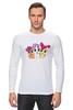 "Лонгслив ""cutie mark crusaders"" - pony, applebloom, scootaloo, sweetie, bell, cmc"