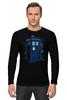 """Лонгслив """"Тардис"""" - doctor who, доктор кто, тардис, police box"""