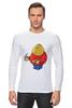 "Лонгслив ""Fat Legoman"" - lego, обжорство, лего"