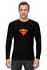 """Лонгслив """"Superman x Batman"""" - супермен, batman, superman, бэтман"""