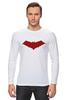 """Лонгслив """"Красный колпак (Red Hood)"""" - batman, бэтмен, красный колпак, red hood"""