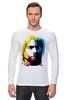 "Лонгслив ""Nirvana Kurt Cobain "" - nirvana, рок, kurt cobain, курт кобейн, нирвана"