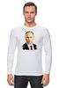 "Лонгслив ""Владимир Путин"" - россия, russia, путин, президент, putin"