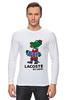 """Лонгслив """"гена лакост"""" - lacoste, крокодил гена, лакост"""
