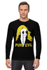 "Лонгслив ""Pure Evil"" - граффити, дизайн, винтаж, pure evil"