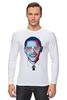 """Лонгслив """"Барак Обама"""" - арт, usa, сша, президент, president, barack obama"""